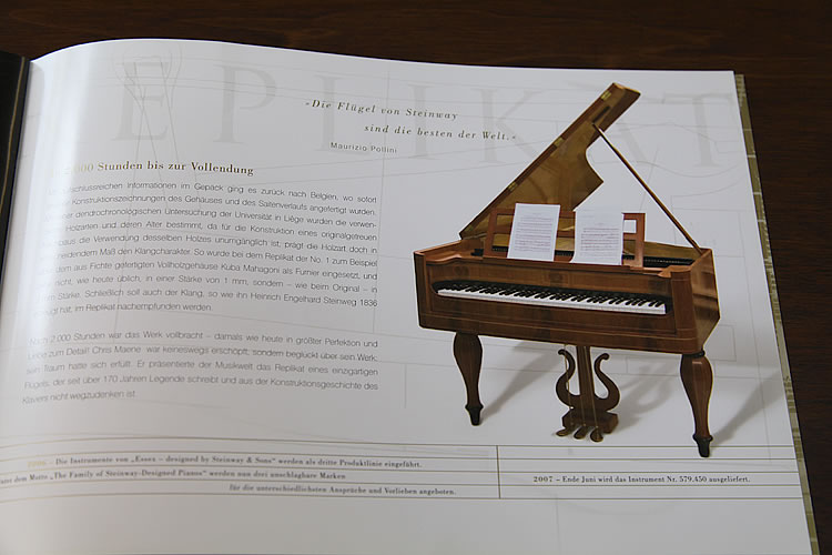 Image from a Steinway catalogue