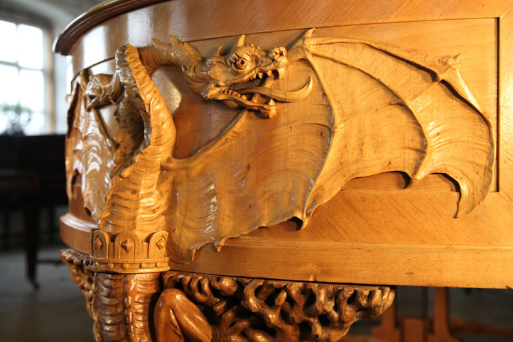 Dragon carved detail