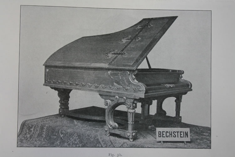 Bechstein stand at the Berlin Trade Exhibition of 1898