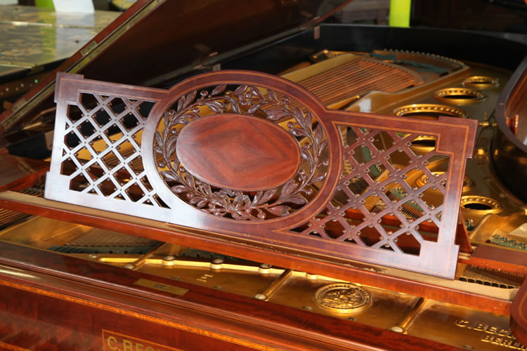 Bechstein model E inlaid music desk