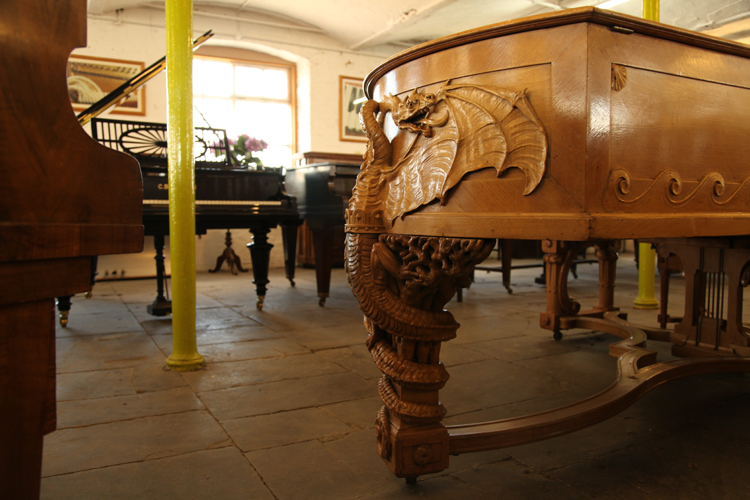 The Golden Age of Pianos Collection at Besbrode Pianos Showroom