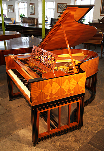 The Golden Age of Pianos. A 1914, Steinway model O grand piano for sale with a mahogany and ebony case